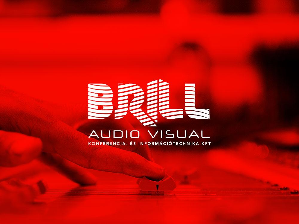 Brill Audio Visual Logo